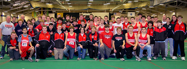 2012-2013 Hingham High School Winter  Track Team