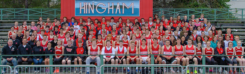 2013 Hingham High School Outdoor Girls and Boys Track Teams