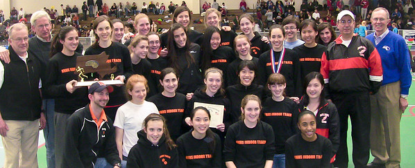 Newton North wins the Devision 1 Indoor State Track Championship