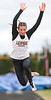 Leipsic's Carlee Siefker jumps 18'1/2 in the long jump.
