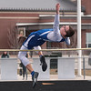 Riverdale's Stephen Letso clears the bar at 5'6 for the Falcons.