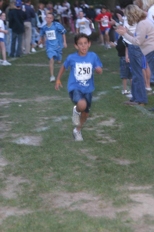 5th Grade Boy's Winner - 1 mile @ 6:30