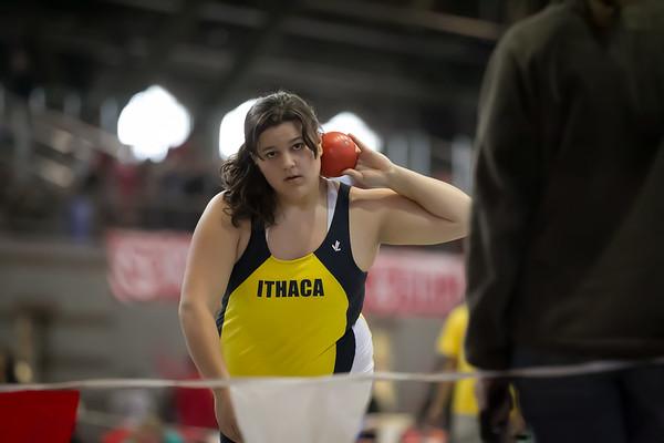 2012 Cornell Relays -- Ithaca Bombers Throwers
