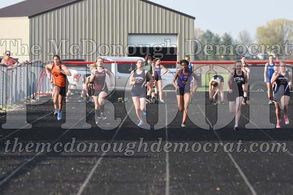 HS Track Girls Invite 05-01-18