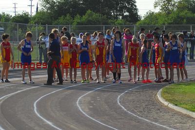 Sierra High vs. Oakdale High, Ann Running 2 Miles