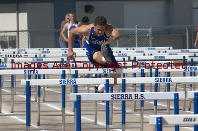 Sierra, Sonora and Manteca High School Track Meet At Sierra High 4/1/2009
