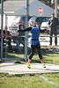 Elmwood's Katelyn King tosses the discus.