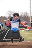 Elmwood's Josh Condon in the long jump.