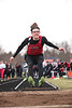 Arcadia's Jakob Bostwick in the long jump.