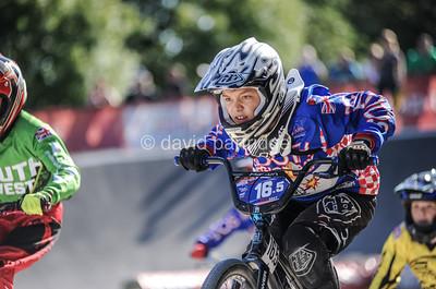 HSBC UK BMX National Series Finals, Derby BMX Park, Derby, ENGLAND