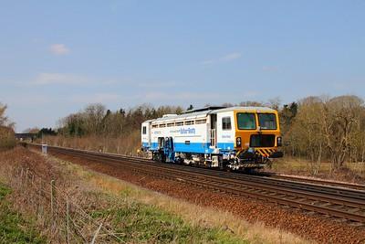 DR73939 east of Tonbridge on the 1st April 2016
