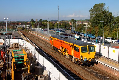 DR73931 at Severn Tunnel Junction on the 29th September 2015