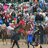 Joel Rosario and Orb wins the 139th Kentucky Derby.