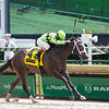 Break Even with Shaun Bridgmohan wins Eight Belles (G2) at Churchill Downs during Derby week 2019  May 3, 2019 in Louisville,  Ky.