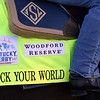 Rock Your World saddle cloth at Churchill Downs on April 25, 2021. Photo By: Chad B. Harmon