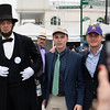 Abe Lincoln finally made it to his 1st Derby.