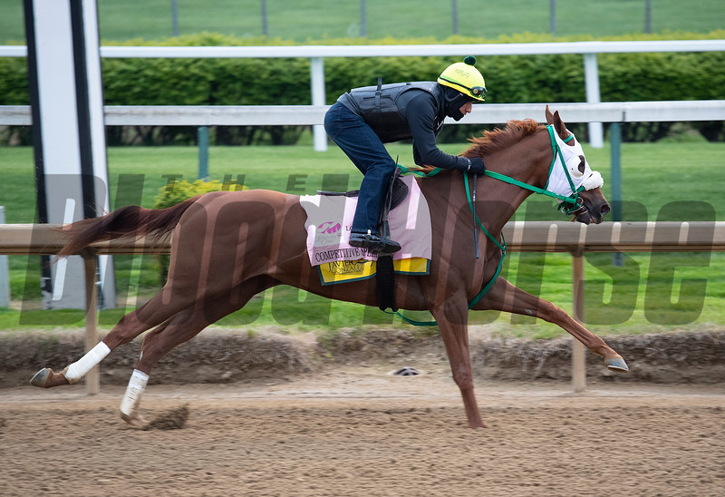 Competitive Speed<br /> Kentucky Derby and Oaks horses, people and scenes at Churchill Downs in Louisville, Ky., on April 23, 2021.