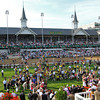Winner's Circle and twin spires<br /> Kentucky Derby 138<br /> Photo by Crawford Ifland.