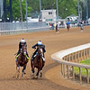 Highly Motivated<br /> Kentucky Derby and Oaks horses, people and scenes at Churchill Downs in Louisville, Ky., on April 24, 2021.
