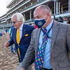 Bob Baffert and Steve Hargrave after Authentic with John Velazquez wins the Kentucky Derby (G1) at Churchill Downs, Louisville, KY on September 5, 2020.