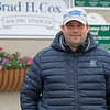 Brad Cox<br /> Kentucky Derby and Oaks horses, people and scenes at Churchill Downs in Louisville, Ky., on April 25, 2021.