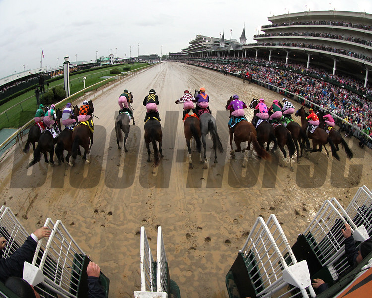 Kentucky Derby Starting Gate Remote Chad B. Harmon