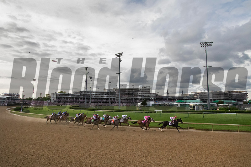 SERENGETI EMPRESS wins the Kentucky Oaks at Churchill Downs, May 3rd, 2019, jockey Jose Ortiz up