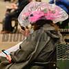 A rainy start to Derby Day.