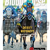 May 9, 2015 Issue 19 cover of the Blood-Horse featuring American Pharoah and jockey Victor Espinoza winning the 141st running of the Kentucky Derby at Churchill Downs.
