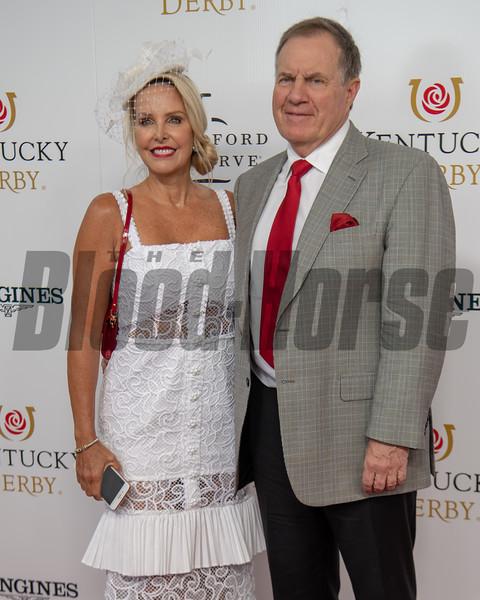 Bill Belichick and Linda Holliday