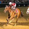Untapable wins the Pocahontas Stakes (gr. 2)<br /> Jockey: Rosie Naprvnik<br /> CHURCHILL DOWNS, Louisville, KY<br /> Purse: $150,000<br /> Date: September 7, 2013<br /> Class: Grade II<br /> TV: HRTV<br /> Age: 2YO Fillies<br /> Race: 6<br /> Distance: One Mile<br /> Post Time: 8:30 PM<br /> Photo by: Kevin Thompson