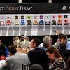 The field is set for Saturday's Kentucky Derby at the Draw at Churchill Downs Wednesday May 3, 2017 in Louisville, KY.  Photo by Skip Dickstein