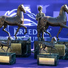 Trophies at Keeneland in Lexington, Ky. on Nov. 7, 2020.