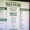 Caption: track kitchen menu<br /> Behind the Scenes at Keeneland during Covid19 virus and the people, horses, and essentials needed to take care of race horses on April 2, 2020 Keeneland in Lexington, KY.
