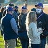 Jack Wolf, right, with Starlight Racing crew. <br /> Breeders' Cup horses at Keeneland in Lexington, Ky. on November 4, 2020.