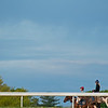 Caption: scene<br /> Keeneland scenes and horses on April 25, 2020 Keeneland in Lexington, KY.