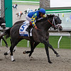 Caption: Monba with Edgar Prado wins the Bluegrass Stakes (gr. I)<br /> Racing at Keeneland on April 12, 2008, in Lexington, Ky.<br /> Bg2 image5247<br /> Photo by David Young