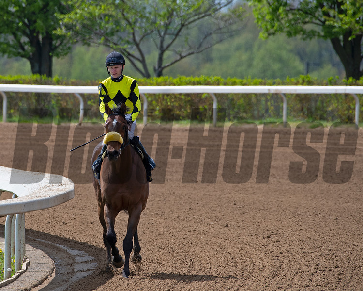 Summer Assault with Jareth Loveberry after Race 5. <br /> Scenes at Keeneland near Lexington, Ky., on April 15, 2021. .
