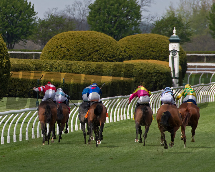turf racing<br /> Scenes at Keeneland near Lexington, Ky., on April 15, 2021. .