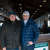 (L-r): Kirk and Jordan Wycoff with Three Diamonds Farm<br /> Keeneland January Sales at Keeneland near Lexington, Ky., on Jan. 13, 2021.