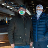 (L-r): Kirk and Jordan Wycoff with Three Diamonds Farm<br /> Keeneland January Sales at Keeneland near Lexington, Ky., on Jan. 13, 2021.