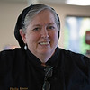 Caption: Phyllis Keene, Track Kitchen manager<br /> Behind the Scenes at Keeneland during Covid19 virus and the people, horses, and essentials needed to take care of race horses on April 2, 2020 Keeneland in Lexington, KY.