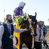 Order of Australia with Christophe Soumillon wins the Breeders' Cup Mile at Keeneland in Lexington, Ky. on Nov. 7, 2020.