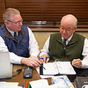 (L-R): Kurt Becker and Ryan Mahan<br /> Keeneland January Horses of all ages sales on<br /> Jan. 14, 2020 Keeneland in Lexington, KY.