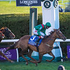 Tarnawa ridden by Colin Keane wins the $2M Breeders' Cup Turf G1 at Keeneland Race Course Saturday Nov. 7,  2020 in Lexington, KY.  Photo by Skip Dickstein
