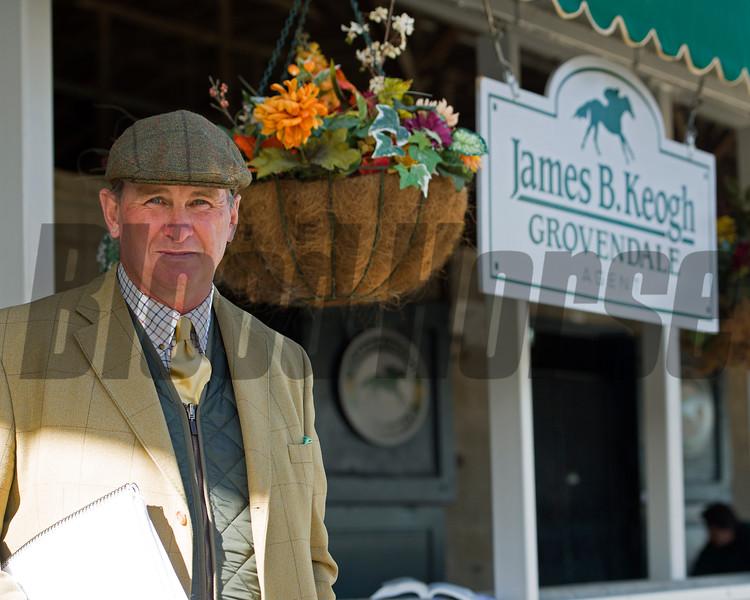 James B. Keogh, plus Lane's End stallions and Keeneland ring<br /> Keeneland November Sales on Nov. 11, 2016, in Lexington, Ky.