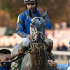 Essential Quality ridden by Luis Saez wins the $2M Breeders' Cup Juvenile (G1)  at Keeneland Race Course Friday Nov. 6 2020 in Lexington, KY.  Photo by Skip Dickstein