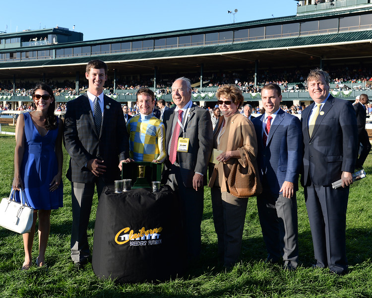 Classic Empire wins Claiborne Breeders' Futurity (gr. I) at Keeneland.