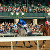 Essential Quality with Luis Saez up wins the Blue Grass Stakes (G2) at Keeneland on April 3, 2021.