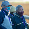 Jack Knowlton, right, with Sackatoga<br /> Breeders' Cup horses at Keeneland in Lexington, Ky. on November 4, 2020.